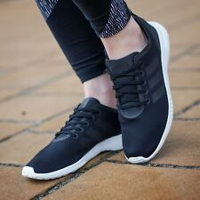 Adidas Women ZX FLUX ADV Smooth Black/White Trainers