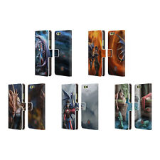 OFFICIAL ANNE STOKES DRAGON FRIENDSHIP 2 LEATHER BOOK CASE FOR HUAWEI PHONES