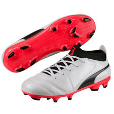 Scarpe calcio Puma - JUNIOR ONE 17.3 FG White / Black / Coral