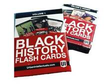 Black History Educational Learning Flashcards Volumes 1 and 2 Learning Pack