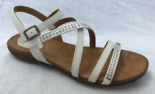 BNIB Clarks Ladies Autumn Peace White Leather Sandals