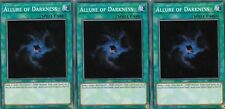 YUGIOH CARDS 3 X PLAYSET - MULTIPLE CHOICE STRUCTURE DECK LAIR OF DARKNESS SR06