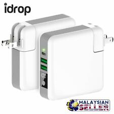 idrop MULTIPLE Travel Charging Powerbank - Qi Wireless & USB Cable Charging