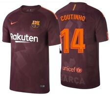 NIKE PHILIPPE COUTINHO FC BARCELONA THIRD JERSEY 2017/18.