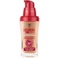 LOREAL INFALLIBLE MAKE UP LONG LASTING PERFECTING FOUNDATION NEW WITHOUT LID