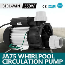 LX JA75 0.75HP Whirlpool Circulation Pump Hot Tub Hydromassage Durable Spa Serve