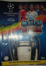 Match Attax Champions League 17 18 limited edition Nordic Game Changer ClubHero