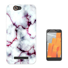 1816 Marble Effect GEL Cover Per Samsung A J S6 S7 S8 S9 Plus