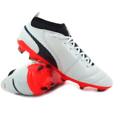 Scarpe calcio Puma - ONE 17.2 FG White / Black / Coral