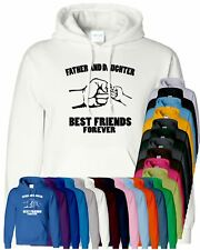 Father And Daughter Mens Hoodie Best Friend Fathers Day Present Gift Hoody