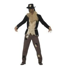 Men's Goosebumps The Scarecrow Fancy Dress Costume Movie Halloween Stag Fun Do