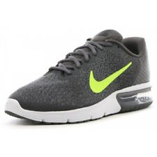 Nike Air Max Sequent 2 Tg.7 (40), Grigio - Giallo Fluo