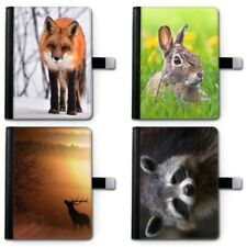 Conejo Cuero iPad Funda , 360 Giratorio para Apple I PAD CON ANIMAL, FOX etc