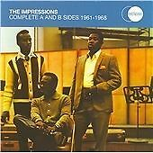 The Impressions - Complete A and B Sides 1961-1968 (2xCD) . FREE UK P+P ........