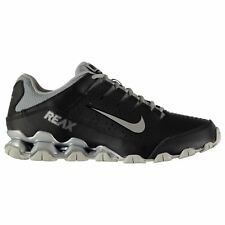Nike Reax 8 Fitness Training Shoes Mens Black/Silver Gym Sneakers Trainers