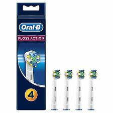 Braun Oral B Electric Floss Action Toothbrush Replacement Brush Heads - NEW