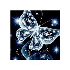 5 D Broderie Diamant DIY Traveau Peinture Papillon Point de Croix Broderie