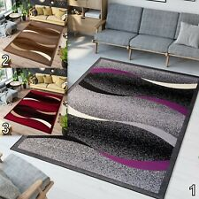 Extra Large Small Medium Size Floor Carpets Wave Pattern Durable New Area Rugs