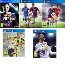 Fifa 14/15/16/17/18 PS4 Bundle Pick 4m Menu  - Prestine  - FAST & FREE Delivery