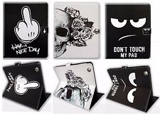 Don'T Touch Smart Folio Funda Cuero de Pu / para Apple Ipad 2/3/4 / Mini /