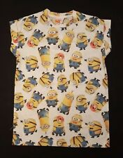 PRIMARK LADIES GIRLS THE MINIONS & STARFISH DESPICABLE ME T SHIRT TEE SHIRT UK 6