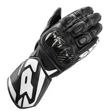 Spidi CARBO 1 moto cuir RACING SPORT Carbone Gants Noir