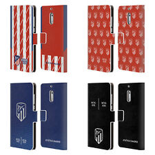 CUSTOM ATLETICO MADRID 2017/18 INITIALS LEATHER BOOK CASE FOR MICROSOFT PHONES
