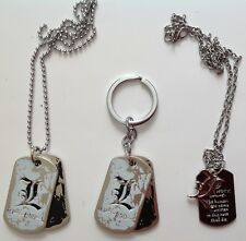 Death Note Necklace (2 Types) and Keyring Anime Cosplay