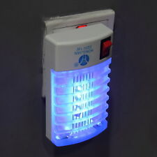 EU LED Socket Electric Mosquito Fly Bug Insect Trap Night Lamp Killer Zapper G3