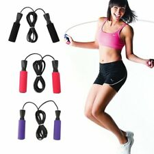 Aerobic Exercise Boxing Skipping Jump Rope Adjustable Bearing Speed Fitness GP