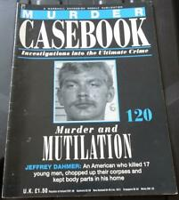 MURDER CASEBOOK - ISSUE 61 to 120 - MARSHALL CAVENDISH PARTWORK - PICK AN ISSUE