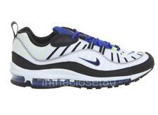 Nike Air Max 98 White Racer Black Racer Blue  Mens Trainers 640744-103