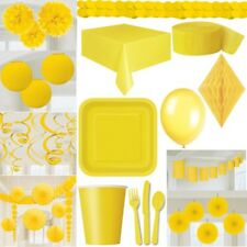 Yellow Party Decoration Yellow Birthday GARDEN PARTY CARNIVAL CARNIVAL CHILDREN