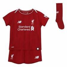 Liverpool FC Home Kit Red Polyester Infant Football Kit 18/19 LFC Official