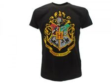 T-shirt HARRY POTTER Hogwarts Maglietta manica corta FILM ORIGINALE IDEA REGALO