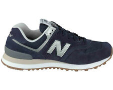 MENS ORIGINAL NEW BALANCE 574 NAVY TRAINERS SNEAKERS SHOES ML574HRJ
