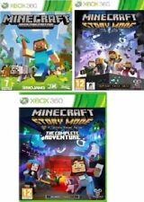 XBOX 360 Minecraft:  / Story Mode - MINT- 1st Class Fast & Free Delivery