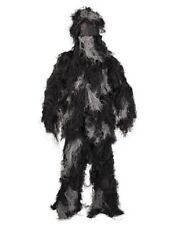 "Ghillie Suit ""Anti Fuego"" 4pc. Básico NOCHE CAMUFLAJE, Traje de PAINTBALL"