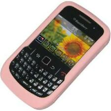 AMZER Silicone Skin Jelly Case - Baby Pink For BlackBerry Curve 8520 9300 3G