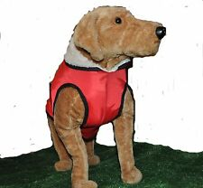 Wraparound Waterproof Dog Coat with under body & chest covering -  easy fit