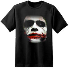 Heath Ledger Joker Batman Dark Knight FACCIA SUICIDE SQUAD (S - 3XL) ARLECCHINO