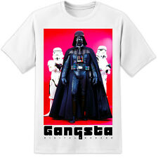 Star Wars Hombre Vader Gangsta Camiseta Stormtrooper The Last Jedi Episodio 8