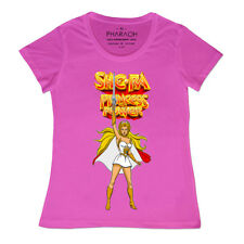 SHE - Ra Princess of Power Donna T SHIRT DONNA RETRO VINTAGE ANNI 80 ragazze