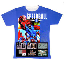 officially Lic.. SPEEDBALL 2 Camiseta Gaming Megadrive Atari BITMAP Bros AMIGA