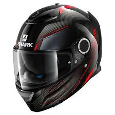 Casco Shark Spartan Carbon Silicium