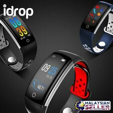 CRAZYBOSS idrop Colorful Display Smart Watch Heart Rate Blood Pressure Monitor