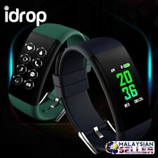 idrop DB11 Color Display Heart Rate Waterproof Smart Watch Bracelet for Android