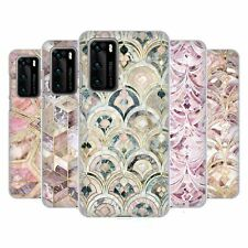OFFICIAL MICKLYN LE FEUVRE MARBLE PATTERNS HARD BACK CASE FOR HUAWEI PHONES 1