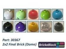 NEW Lego Part 30367 2x2 Final Brick/Dome Choose 2,5,10,15,20 ALL COLS SAME PRICE