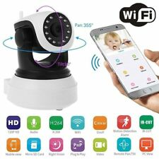 HD 720P Pan Tilt Night Vision Network IP Camera Home Security Wireless WIFI Cam